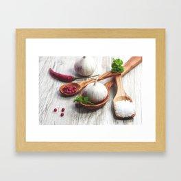 Light spices for the Kitchen Framed Art Print