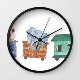 ChooChoo! Wall Clock