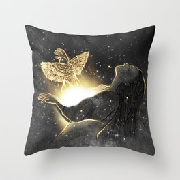 Catch up your dreams. Throw Pillow