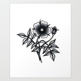 Flower I Art Print