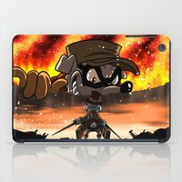 attack on titan iPad Cases featuring A Quack on Titan by ADobson