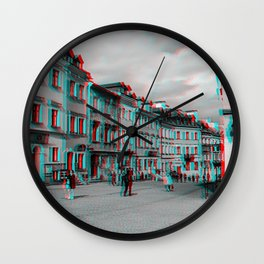 Old town in Lublin Wall Clock
