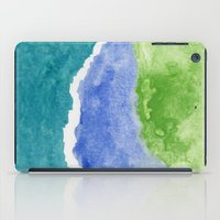 salt water iPad Cases featuring Salt Water by Beth Thompson