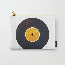 Vinyl Record Star Sign Art | Leo Carry-All Pouch