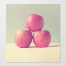 Apple Trio Canvas Print