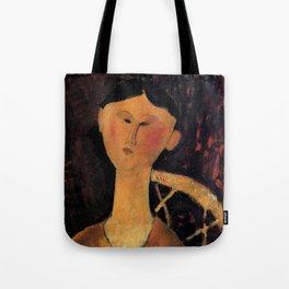 "Amedeo Modigliani ""Beatrice Hastings"" 1915 Tote Bag"
