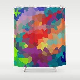 Vibrant Colors Shower Curtain