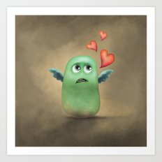 Hey Sweety Art Print
