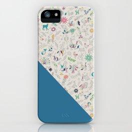 Pez Otomi ultramarine by Ana Kane iPhone Case
