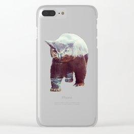 Owlbear Clear iPhone Case