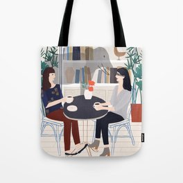 The elephant in the room Tote Bag