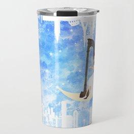 Harp girl 5: Connection Travel Mug
