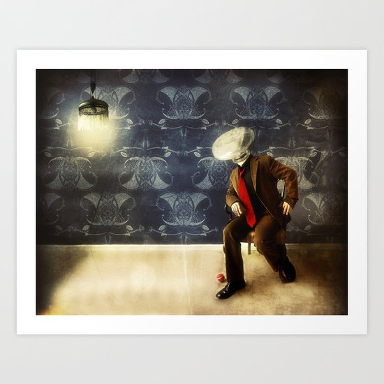Mr. Glitch, 2 Art Print