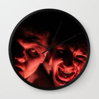 zombies Wall Clocks featuring Zombies! by Justin White