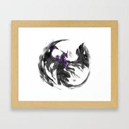 Darkeater Framed Art Print