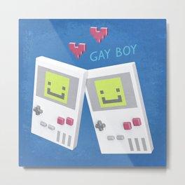 Game Boy Gay Boy Metal Print