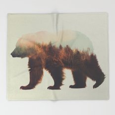 Norwegian Woods: The Brown Bear Throw Blanket