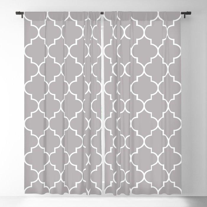 Moroccan Trellis Latticework Gray