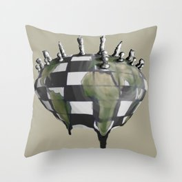 Next Move Throw Pillow
