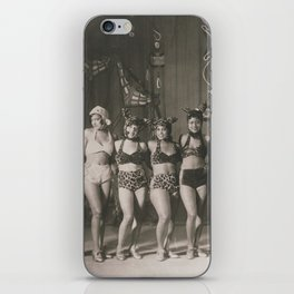 African American 1920's NYC Chorus Line iPhone Skin