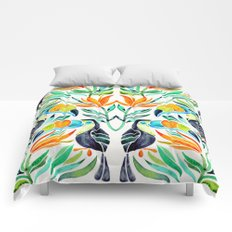Tropical Toucans Comforters