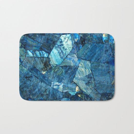 Labradorite Blue Bath Mat