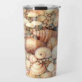 Shells on Sand Travel Mug