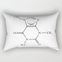 Caffeinated Happiness Rectangular Pillow