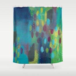 Rainy Day in Wonderland Shower Curtain