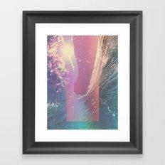 HOLLOW SURF Framed Art Print
