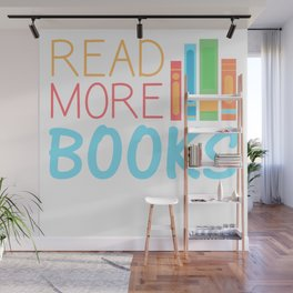 Read More Books Wall Mural