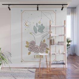 Libra Zodiac Series Wall Mural