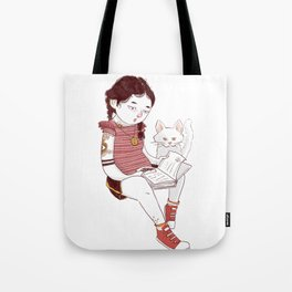 Magic book Tote Bag