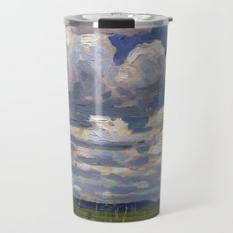 Tom Thomson - Summer Day - Canada, Canadian Oil Painting - Group of Seven Travel Mug