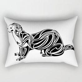Ferret Design Rectangular Pillow
