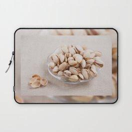 open pistachio nuts in shell Laptop Sleeve