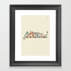 Bicho Framed Art Print
