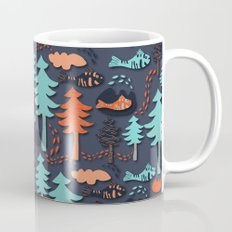Fishes in the wood Mug