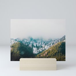 Green Mountain Paradise Mini Art Print