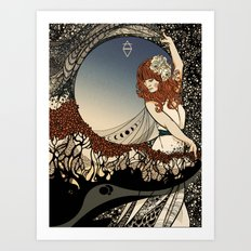 How Big, How Blue, How Beautiful Art Print