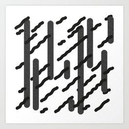 Fragments - A Art Print