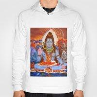 shiva Hoodies featuring Shiva by Antonimo-discipulosinmaestro
