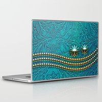 decorative Laptop & iPad Skins featuring Decorative design by nicky2342