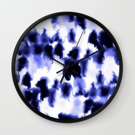 Kindred Spirits Blue Wall Clock