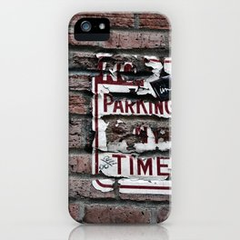 No Parking iPhone Case