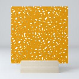 Yellow Freeform Mini Art Print
