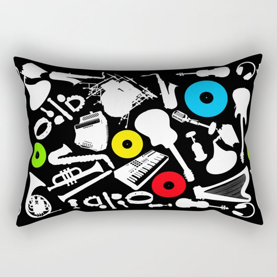 music  Rectangular Pillow