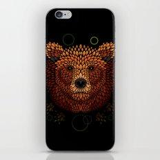 Bear Face iPhone & iPod Skin