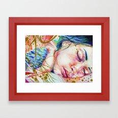 Golden Dreams Framed Art Print