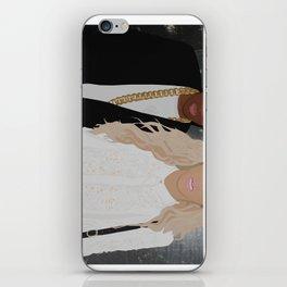 King & King iPhone Skin
